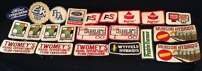 Farming Agriculture Patches Lot Seeds Fertilizers Ford New Holland Plus