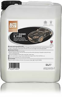 Autoglym Trade FAST SHINE & LUBE – 5 Litre 5L LTR Free Postage