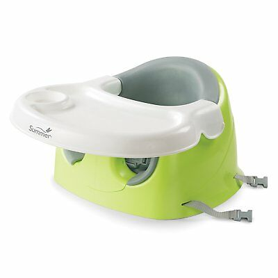 Feeding Seat Booster Multi Positioner Infant Baby Support Removable Tray Dinning
