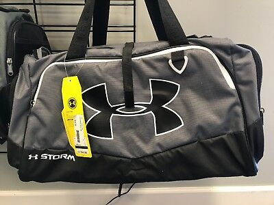 Under Armour Duffle Bag Black And Grey