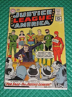 Justice League #8 Mid-Grade 4.5/5.0 Silver Age DC Comic Flash Green Lantern WW