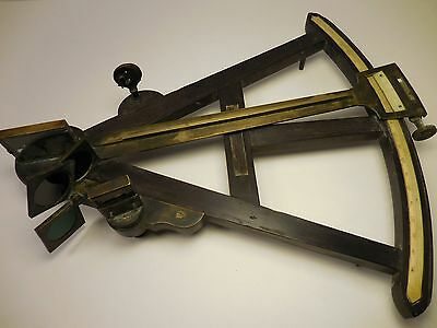 Early Looking Antique Octant / Sextant - Unknown Maker - Old Nautical Instrument