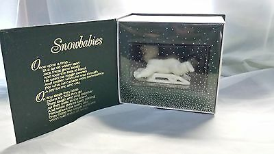 Snowbabies Department 56 Winter Tales Hold On Tight with Box