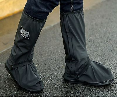 New Motorbike Scooter Waterproof Shoe Clothing Boot Suits Cover Rain Protection