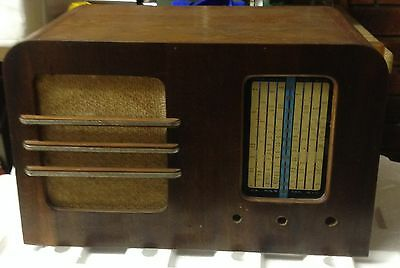 Timber Case for valve radio