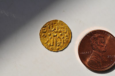 mw8892 Indonesia, Sultanate of Makassar - Ala al-din 1587 - 1629 AD Gold Coupang