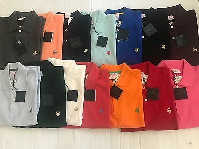 Nwt Brooks Brothers 1818 Men's Performance Polo Original Fit S/S Sz S_2Xl $64.50
