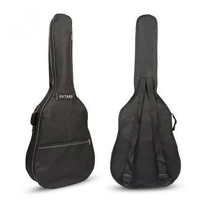 "40"" 41"" Acoustic Guitar Double Straps Padded Backpack Guitar Soft Case Gig Bag"