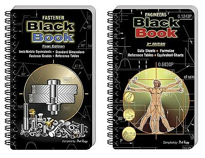 Engineers & Fasteners Black Book Combo - Laminated Grease L100V2EN & L200V1EN