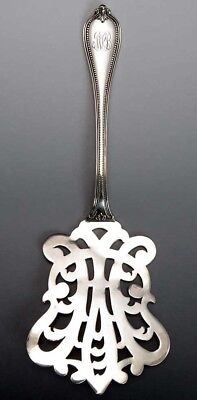 Superb Towle Sterling Silver Old Newbury Openwork Waffle Server