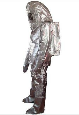 "Nuclear Attack Toxic Escape Suit WWIII ""Fire and Fury"""