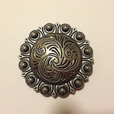 "Antique Berry Concho 1 1/2""  SALE PRICE"