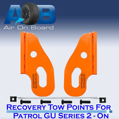 Tow Recovery Point for Nissan Patrol GU Series 2, 3, 4, 5 ON