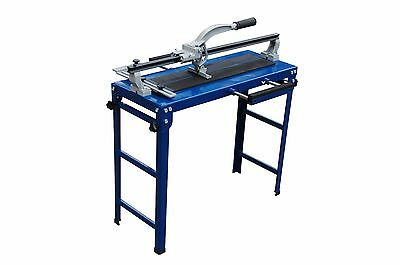 Professional Industrial Bench tile cutter, collapsible Includes 2 x FREE Blades