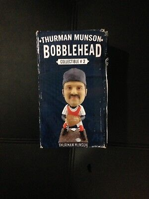 Thurman Munson 2015 Bobblehead New In Box. Box Has Slight Damage.