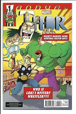Thor Annual # 1 (Guillroy Variant Cover, Apr 2015), Nm New