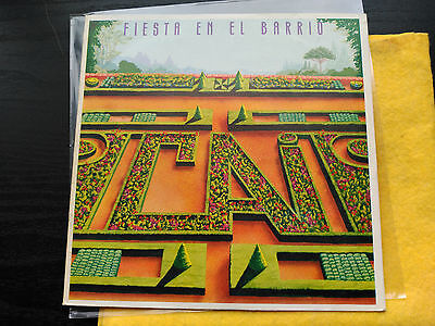 Single Promo Cai - Fiesta En El Barrio - Epic Spain 1981 Vg+ Flamenco/prog Rock