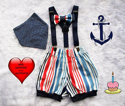 Baby boys smash cake outfit, smash cake outfit, 1st birthday outfit,Boy's Size 1