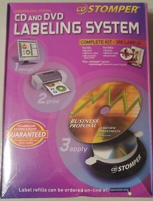 CD Stomper Pro Edition CD and DVD Labeling System