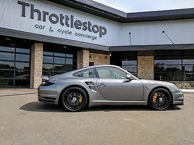 2012 Porsche 911 Turbo S 2012 Porsche 911 Turbo S Meteor Grey 530HP Low Miles! Clean!