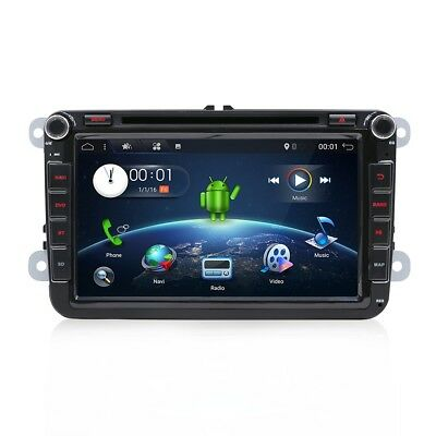 Android6.0+4Core+2G RAM 2DIN GPS Auto-Radio WIFI for VW Seat Skoda Plug-and-play