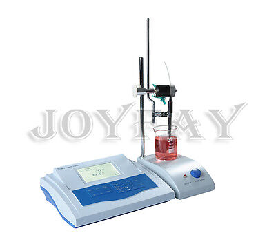 Automatic Potential Titrator pH/mV Meter Tester Digital LCD ZD-2