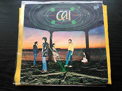Single Cai - Noche Abierta - Epic Spain 1980 G+/vg Flamenco/prog Rock