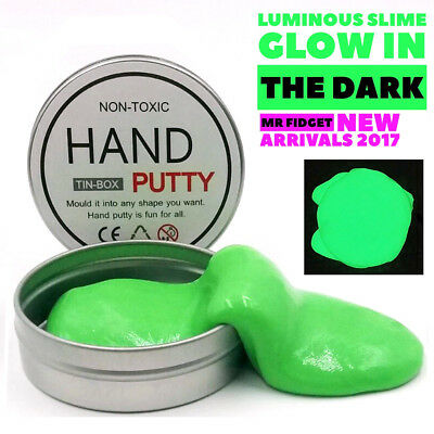 Slime Luminous Silly Rubber Mud Toy Glow In Dark Play Dough Creative Putty