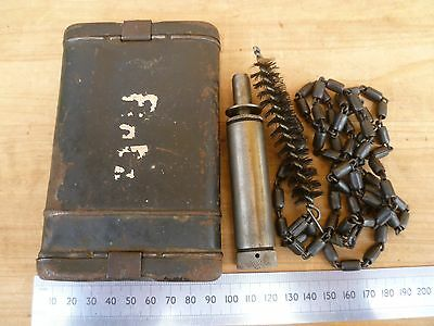 Wwii Era German Military Issue K-98 Mauser Cleaning Kit, (E176)