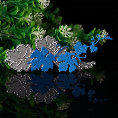 Flowers Leaf Cutting Die Stencil Scrapbooking Embossing Paper DIY Card Craft NEW