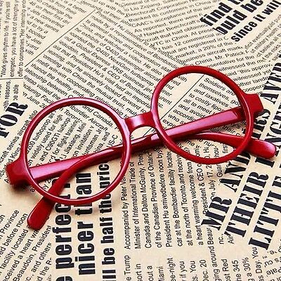 New Unisex Fashion Round Frame Vintage Big Nerd Eye Glasses