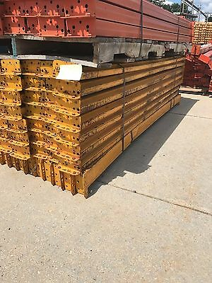 """Used Yellow Teardrop Beams 4.5"""" x 95 5/8"""" long, Chicago, IL"""