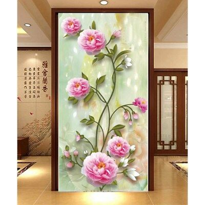 5D DIY Good Fortune Round Diamond Embroidery Painting Cross Stitch Home Decor AU