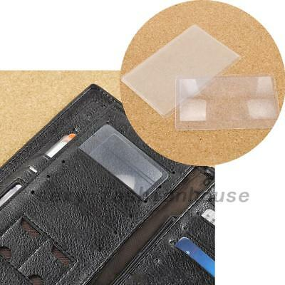 20pcs Credit Card Sized Magnifying Lenses Wallet Magnifiers 3X Lenses Creative