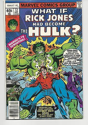 WHAT IF #12, FN/VF 7.0, Rick Jones Had Become The Hulk?