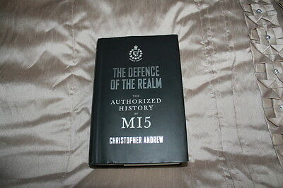 The Defence of the Realm: The Authorized History of MI5 by Christopher Andrew...