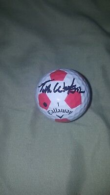 Tom Watson hand signed autograph HIS personally marked golf ball JSA LOA Z05400
