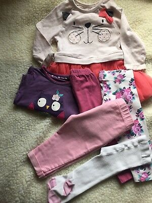 Pre-owned/6-9 Month/girls /Bundle Of Clothes/B8