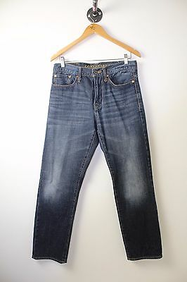 American Eagle Outfitters Jeans Size 29 x 30 Relaxed Straight Lightly Distressed