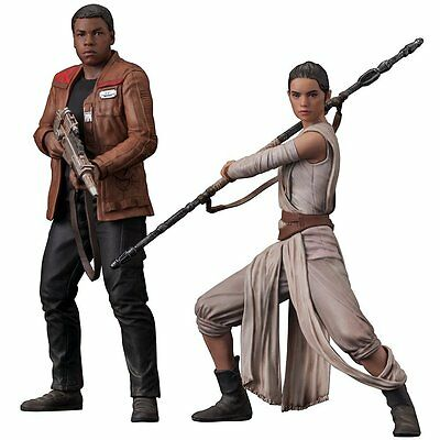 Star Wars - The Force Awakens - Rey and Finn - 2 Pack - Kotobukiya Artfx Statue