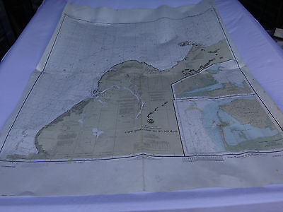 LOT x5 Nautical Chart Charts for Decoration or Art, West Coast