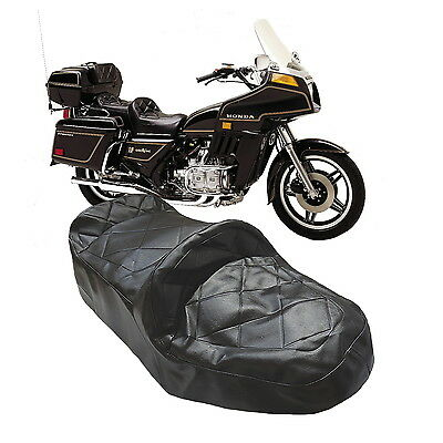 Honda Goldwing Gl1100 Gl 1100 Dual Seat Cover With Stitched Top Detail