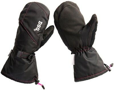 Diva Craze Mittens - Black
