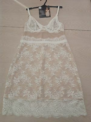 BNWT Rosie Autograph Cream Delicate Lace Full Slip Marks and Spencer RRP £45