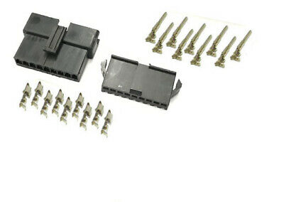 JST 2.5 SM 9-Pin Male Female connector housing Plug with Crimp terminal x 10 set