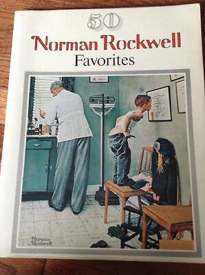 Norman Rockwell 50 Favorites Book