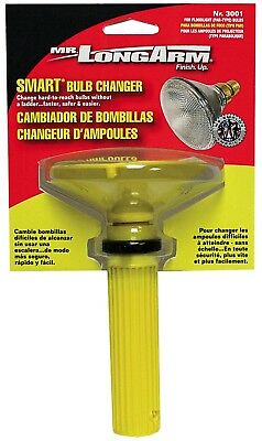 Long Arm Extension Pole Light Bulb Changer Remover Tool Recessed Tall Ceiling