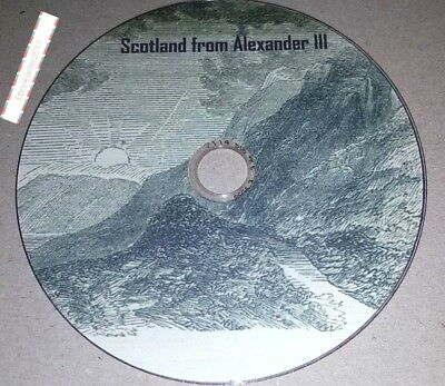The history of Scotland from the accession of Alexander III old books on Disc