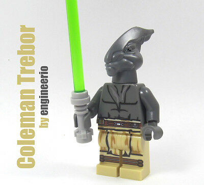 Custom - Coleman Trebor battle worn - mini figure star wars jedi clone on lego
