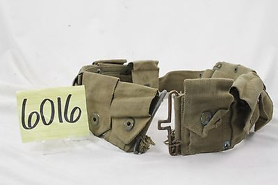 WWII US Army M1 Garand Ammo Belt - Rough